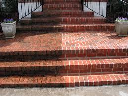 Sablage - hydrogommage de dalles, briques et ciment